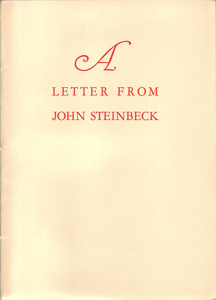 a brief biography of john steinbeck and an analysis of his works Links to history and literature resources useful in the study of john steinbeck, his contemporaries, and his times.
