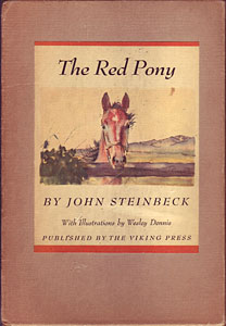a review of john steinbecks the red pony Buy the red pony by john steinbeck (isbn: 9780318656915) from amazon's book store everyday low prices and free delivery on eligible orders.